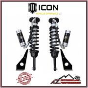 Icon 2.5 Remote Reservoir Front Coilover Shock Kit Fits 10-14 Toyota Fj Cruiser