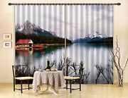 3d River Tree 33blockout Photo Curtain Printing Curtains Drapes Fabric Window Ca
