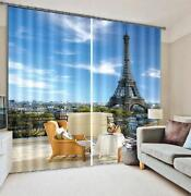 3d Tower Sky 33 Blockout Photo Curtain Printing Curtains Drapes Fabric Window Au
