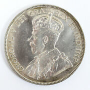 1917 C Canada /newfoundland Silver - 50 Cents Km-12 Cleaned - 91108h