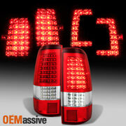 Fit C-shape Full Led Style 2003 2004 2005 2006 Chevy Silverado Taillights Pair