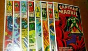 Captain Marvel S 567891011.and 12 8 Comic Book Lot C Photo+descriptions