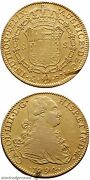 Spain Colonial Gold Coin 8 Escudos Carol Iiii Charles Iv 1794 Ad Mint Mexico