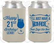 Personalized 21st Birthday Party Favor Koozies 20096 Finally Legal Items Gifts