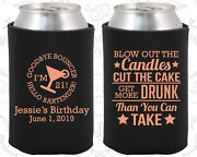 Personalized 21st Birthday Party Gifts Koozie 20107 Finally Legal, Items
