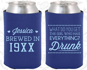 Personalized Birthday Party Gifts Koozie 20147 Beer Birthday, Supplies