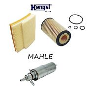 Tune Up Kit Air Fuel Oil Paper Filter For Mercedes-benz Ml430 1999-2001