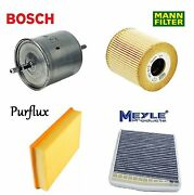 Tune Up Kit Air Oil Fuel Cabin Filters For Volvo S80 2004