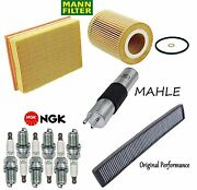 Tune Up Kit Filters And Spark Plugs For Bmw 330i E46 2001-2005