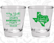Bachelorette Party Shot Glasses Glass Favors 60041 Texas, Stay, Country