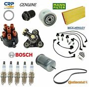 Tune Up Kit Filters Plugs Drain Plug Rotor Cap For Volvo S70 1998