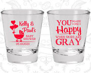 Baby Shower Shot Glasses Glass Favors 90010 Coed Couple