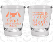 Baby Shower Shot Glasses Favors 90151 Beer And Diapers Bash Gender Neutral