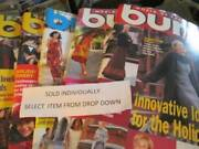 Burda English Text Sewing Magazine Issues 1998/1999 Your Choice-uncut Patterns