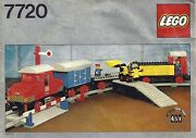 Lego Trains 7720 Diesel Freight Train New Sealed 1980and039 4.5v Battery