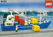 New Lego Classic Town Boats 4030 Cargo Carrier - Sealed / Ships World Wide