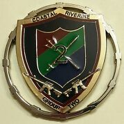Coastal Riverine Group Two/2 Chiefand039s Mess Navy Challenge Coin