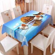 3d Water 4461 Tablecloth Table Cover Cloth Birthday Party Event Aj Wallpaper Au