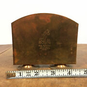 Vintage 50s Mid Century Letter Holder Souvenir Yellowstone National Park Forest
