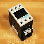 Siemens 3rt1036-1bb40 Contactor 24vdc Coil 3 Pole Size 2, 50 Amp 22kw/400v
