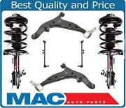 Front Struts Control Arms W Bj Links 6 Pc Chassis Kit For Nissan Quest 2004-2009