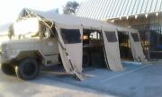 U.s. Military Tent Basex 305 18and039 X 25and039 Hunting Camping Carport Shelter Open Ends