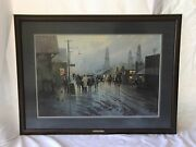 G. Harvey Limited Edition Print Leaving The Oil Patch