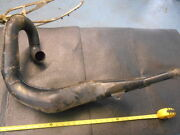 1980 Husky Cr Or 390 Ahrma Vintage Exhaust Expansion Muffler Pipe