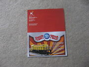 2007 K-line By Lionel Trains Ringling Bros And Barnum And Bailey Flyer Mint