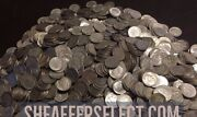 5 Face Value 90 Silver Roosevelt Dimes Full Dates Roll