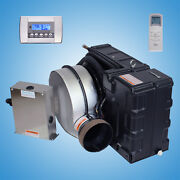 Marine Air Conditioner And Reverse Cycle Heating 9000 Btu 110v Ac With Control