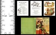 112 Scale Miniature Book Father Tuck's Nursery Rhymes Pre 1900 Dollhouse Scale