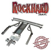 Rock Hard 4x4 Bolt In Ultimate Sport Cage - Bare Fits 1987-1995 Jeep Wrangler Yj