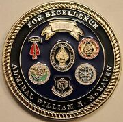 Adm William Mcraven Special Operations Command Socom Navy Seal Challenge Coin V2
