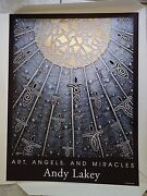 Andy Lakey Art Angels And Miracles Angel 804 Signed Print 7/500 19 X 25 In