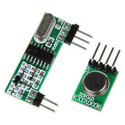 10pcs 433mhz Superheterodyne 3310 Rf Transmitter And Receiver For Arduino Arm