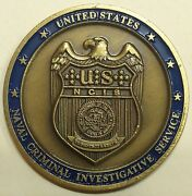 Naval Criminal Investigative Service Ncis Europe / Africa Navy Challenge Coin