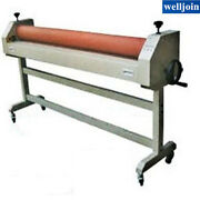 Roll Laminating Machine Cold Laminator 63and039and039 Manual Roller Desktop