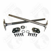 One Piece Axles For '76-'79 Model 20 Cj7 Quadratrack With Bearings And 29 Spline