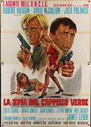 Man From Uncle The Spy In The Green Hat Italian 4f Movie Poster 55x79 Vaughn
