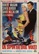 Man From Uncle Spy With My Face Italian 2f Movie Poster 39x55 Vaughn Berger
