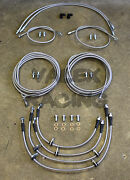 Front And Rear Brake Line Replacement Kit For 92-95 Honda Civic W/rear Drum