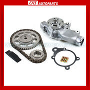 Engine Timing Chain Water Pump Kit 94-98 Jeep Grand Cherokee Wrangler 4.0l Ohv