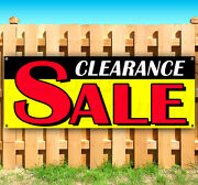 Clearance Sale Advertising Vinyl Banner Flag Sign Large Sizes Business Signs