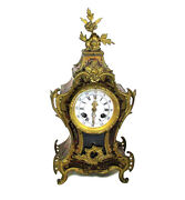 Gorgeous French 19th Century Louis Xv Style Clock In The Manner Of Boulle