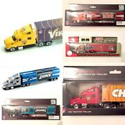 Officially Licensed 180 Scale Diecast Semi Tractor Trailer - Pick Your Team