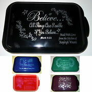 Personalized Aluminum Cake Pans Custom Gifts Mothers Day Birthday Wedding
