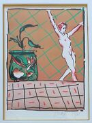 Peter Max Ballet Story 1981 Hand Signed Limited Edition Lithograph