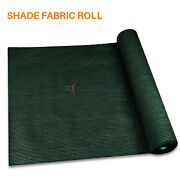 Dark Green Customize 12ft Fabric Roll Shade Cloth Fence Windscreen Privacy Cover