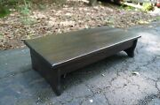 Handcrafted Heavy Duty Wooden Step Stool 6 7 Or 8 Tall 14 X 24 Pick Stain